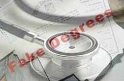 Doctors fake degrees score reaches 38