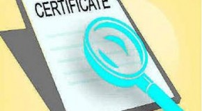 Certificate scam unearthed