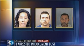 Investigators: Trio charged with making hundreds of fake DMV documents