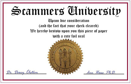 common signs that your candidates diploma is fake