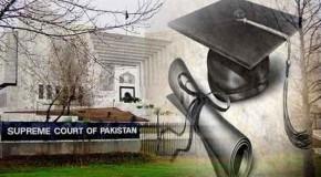 Pakistan apex court suspends MP's membership over fake degree