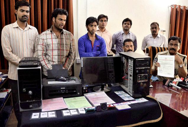 Cops bust fake document racket
