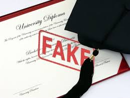 fake degree certificates