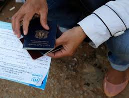 False documents give refugees false hope
