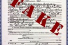 Discovering a parent's fake name on one's birth certificate