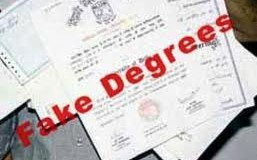 Fake degrees: No separate cases but a nexus