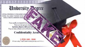 Ex-education minister caught with fake degree