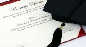Blank degree certificates found on road